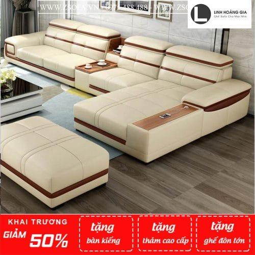 Sofa da cao cấp L7