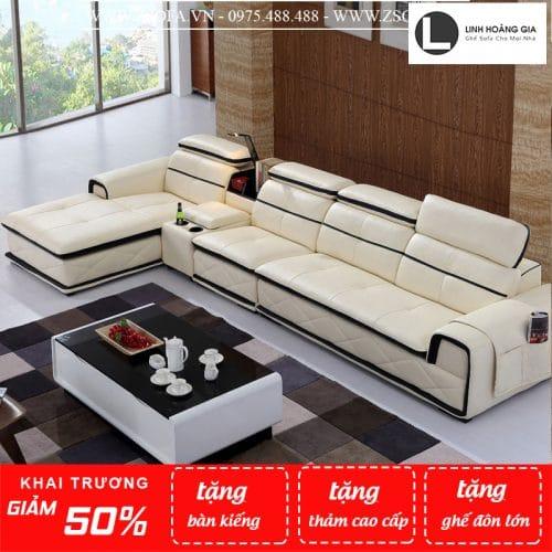 Sofa da cao cấp L8