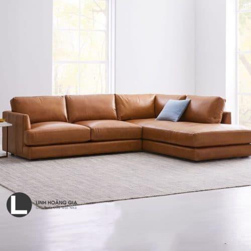 Sofa da cao cấp L29