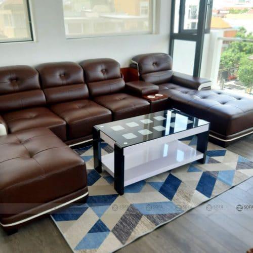 Hình ảnh bàn giao sofa cao cấp GL 1909