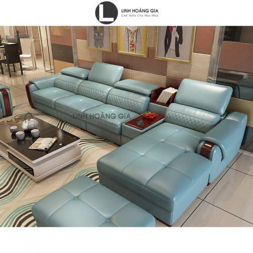 Sofa da cao cấp L18_B