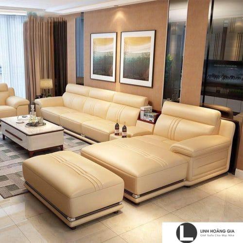 Sofa da cao cấp L10