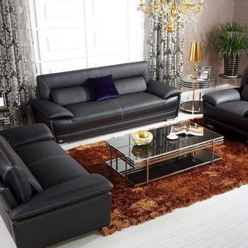 Sofa da cao cấp L17