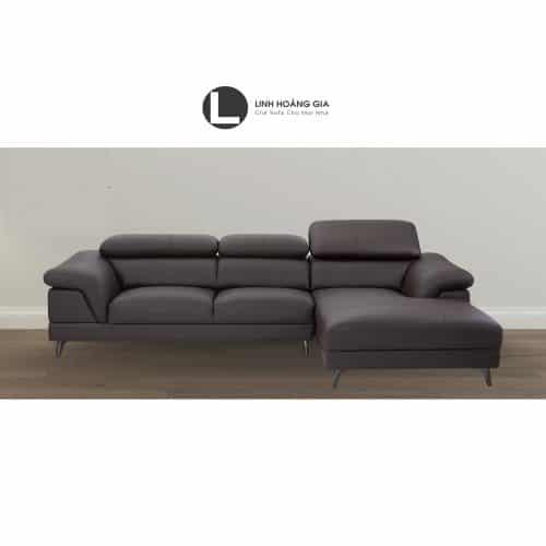 Sofa da cao cấp L26