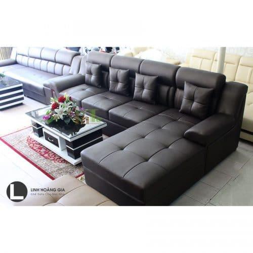 Sofa da cao cấp L39