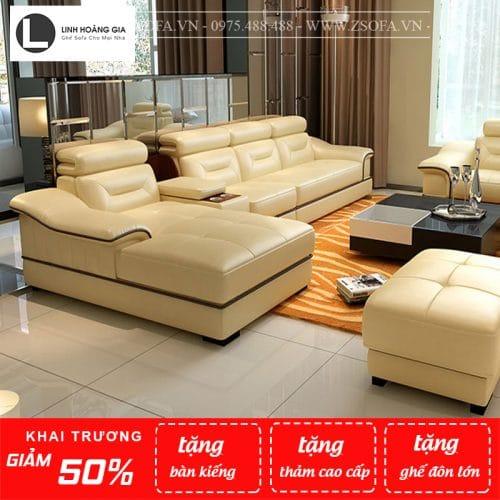 Sofa da cao cấp KMZ-791