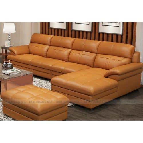 Sofa da cao cấp L43