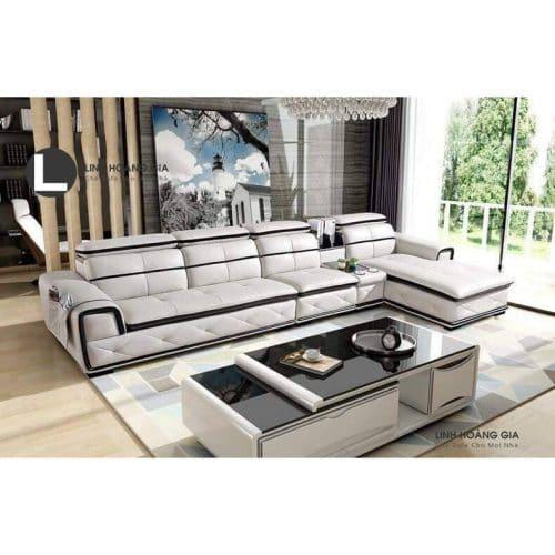 Sofa da cao cấp L12_A