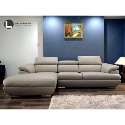 Sofa da cao cấp L38