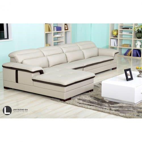 Sofa phòng khách trắng L54