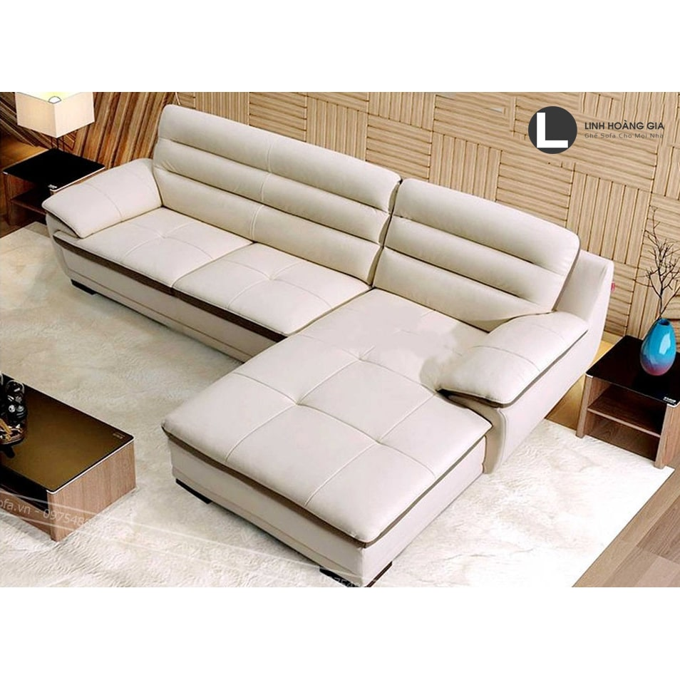 Ghế Sofa cao cấp trắng L Z3010