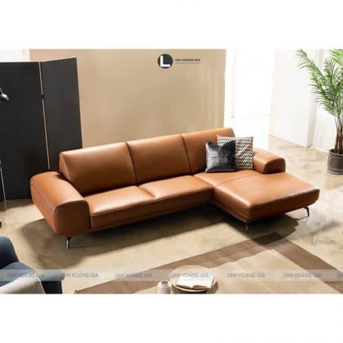 Sofa phòng khách vàng đồng L56