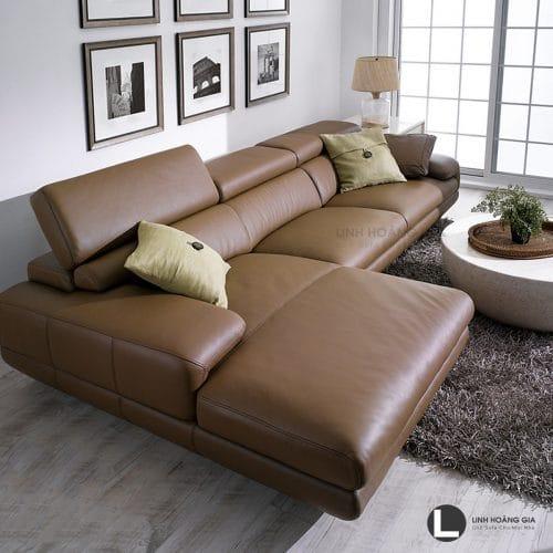 Sofa da cao cấp L33
