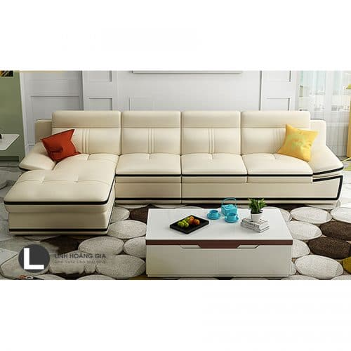 Sofa da cao cấp L34