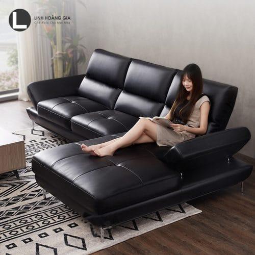 Sofa da cao cấp L31