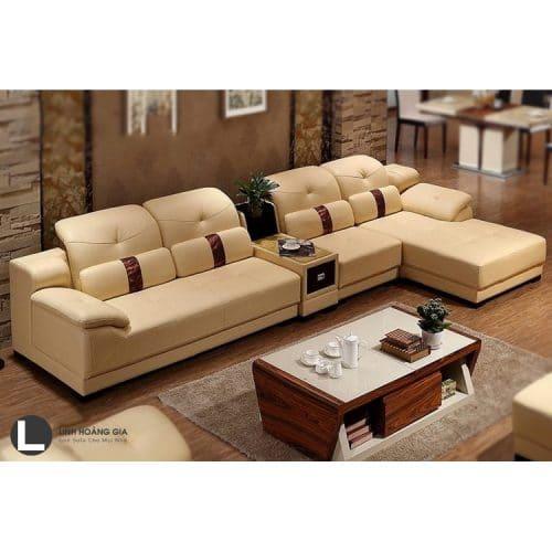 Sofa da cao cấp L51