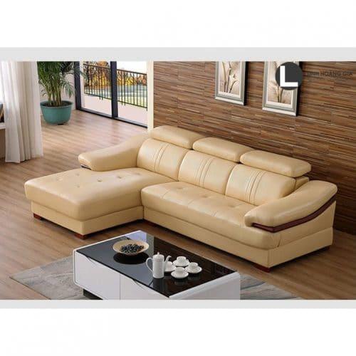 Sofa da cao cấp L35