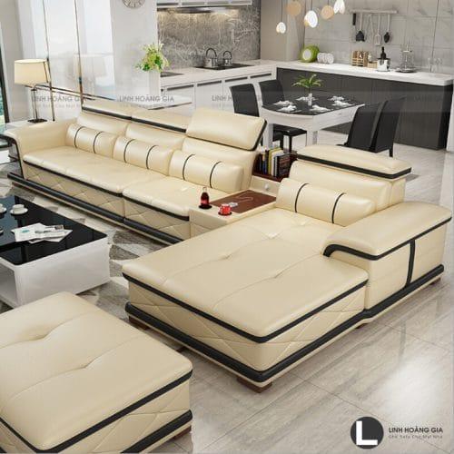 Ghế Sofa phòng khách lớn L75