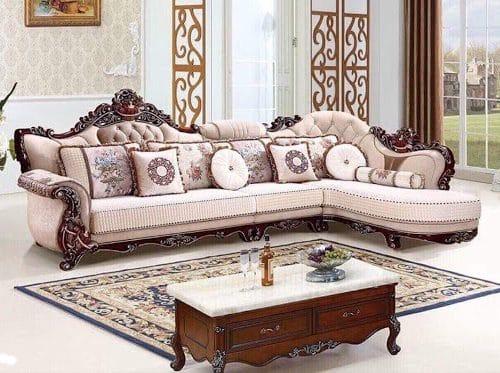 Lựa Chọn Màu Sắc Sofa Cổ Điển Hợp Phong Thủy