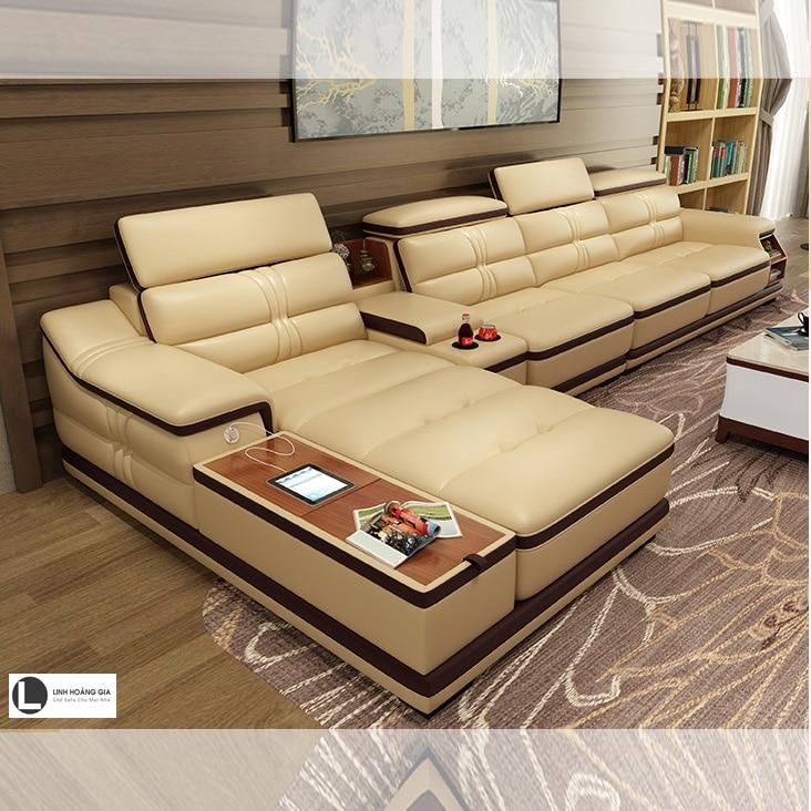 Sofa phòng khách lớn L67