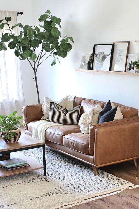 Sofa Băng Da Phong Cách Hiện Đại