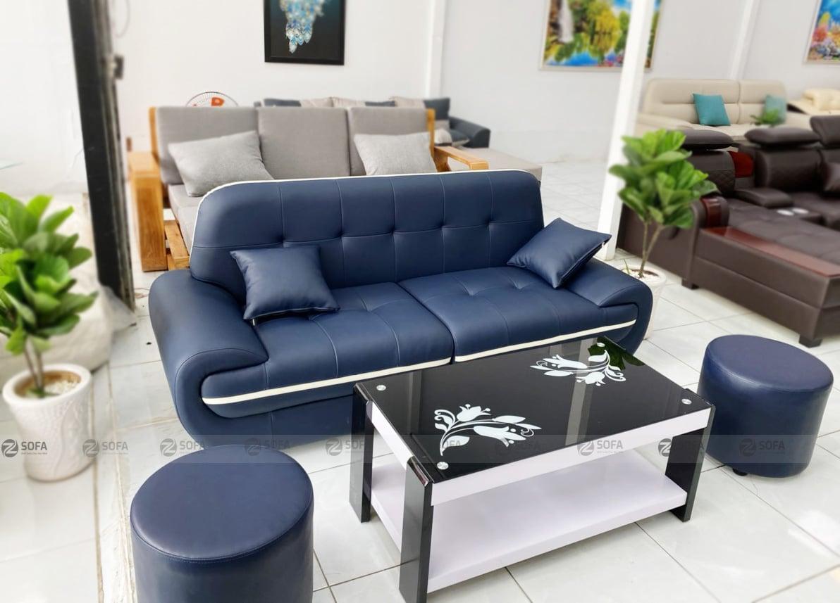 sofa băng da cao cấp ZB181