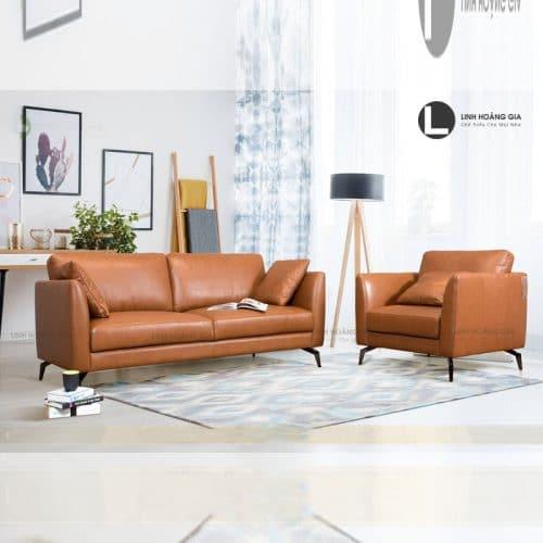Ghế sofa da cao cấp LHG-875