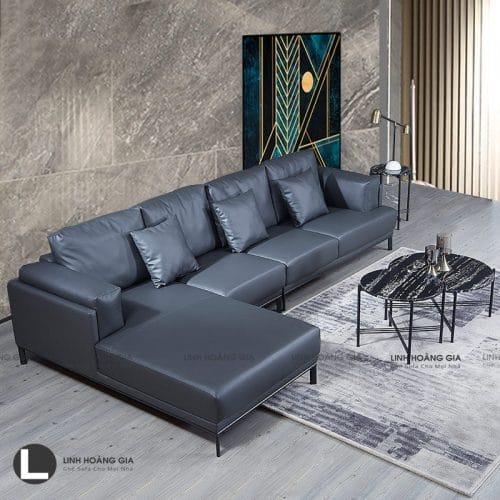 Bộ ghế sofa da cao cấp LHG-867