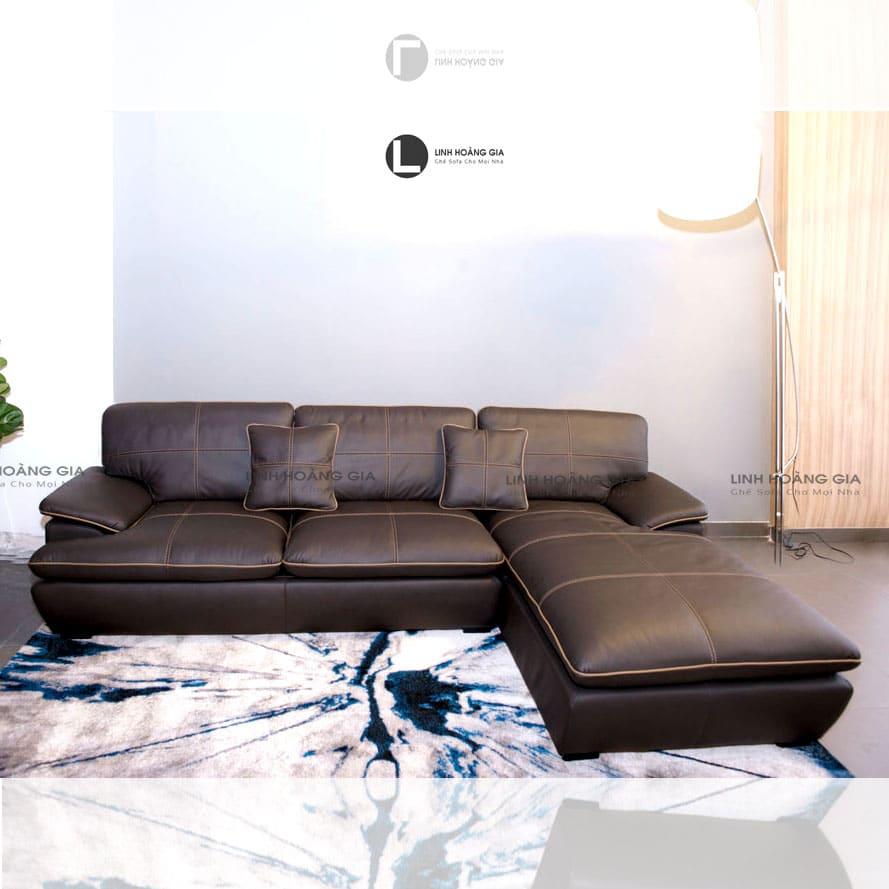 Bộ ghế sofa da bò thật LHG-870