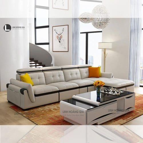 Ghế sofa da cao cấp LHG-872