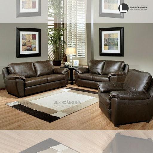 Ghế sofa da cao cấp LHG-873