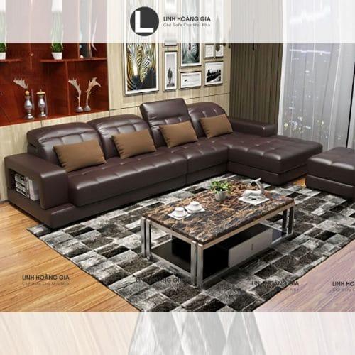 Ghế sofa da cao cấp LHG-874