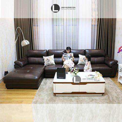 Ghế sofa da cao cấp LHG-876