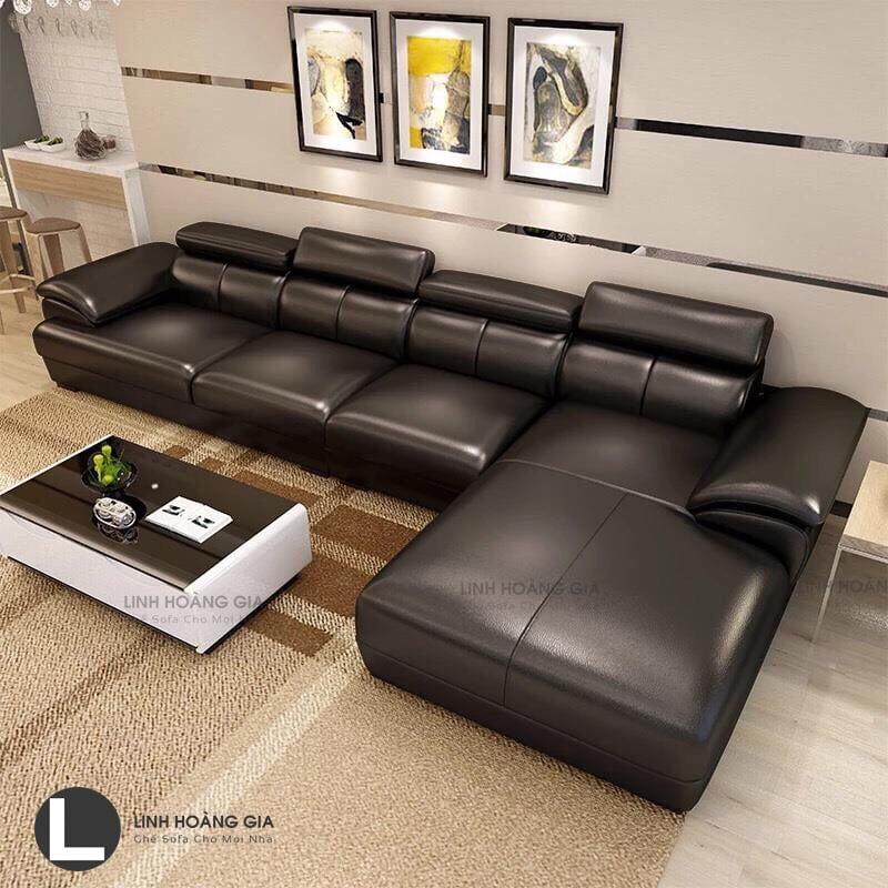 Ghế sofa da cao cấp LHG-879