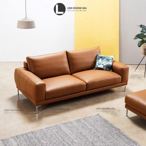 sofa băng da cao cấp LB12
