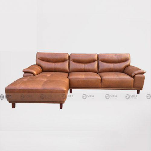Ghế sofa da bò thật LHG 881