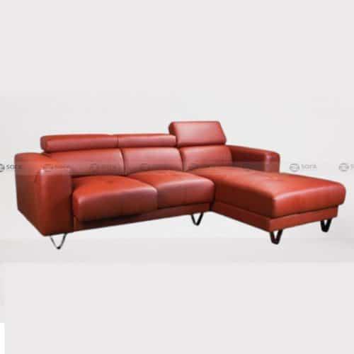 Ghế sofa da bò thật LHG 882