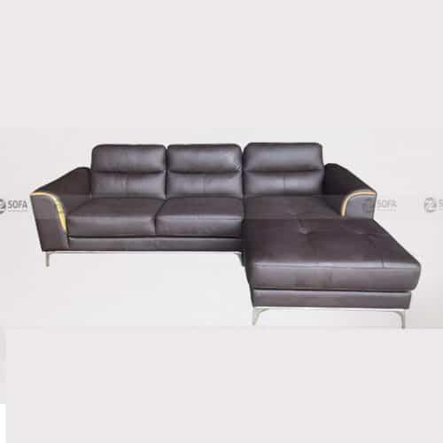 Ghế sofa da bò thật LHG 883