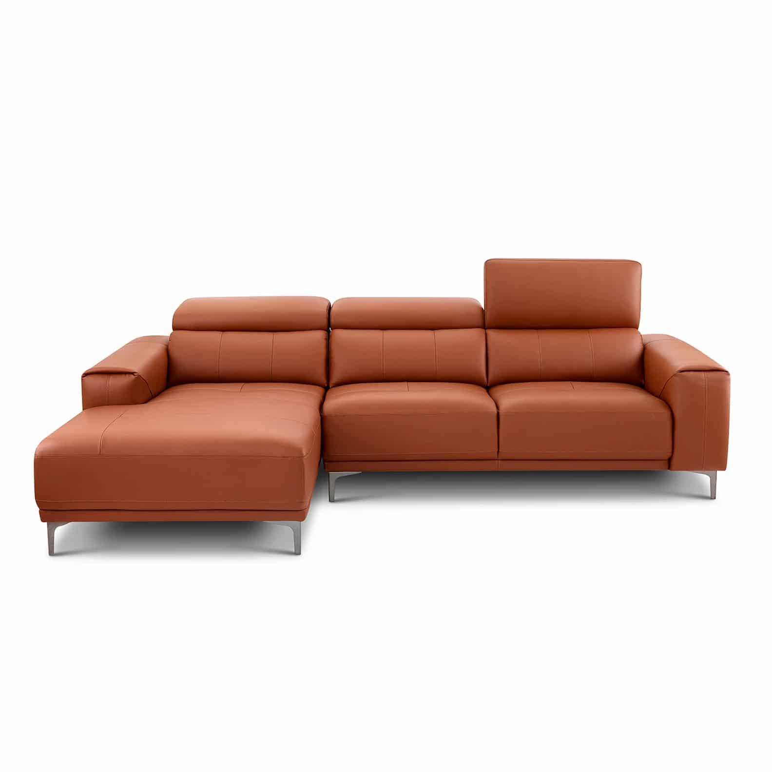 Ghế sofa da bò thật LHG 884