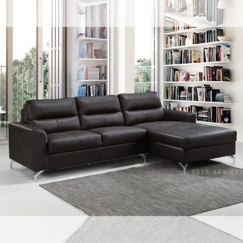 Ghế sofa da bò thật LHG 885