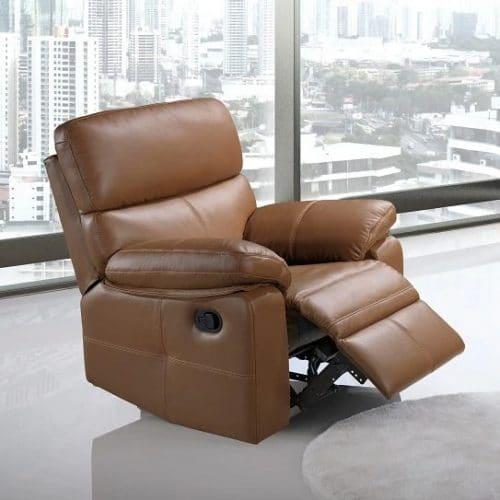 Ghế sofa da bò thật LHG 886