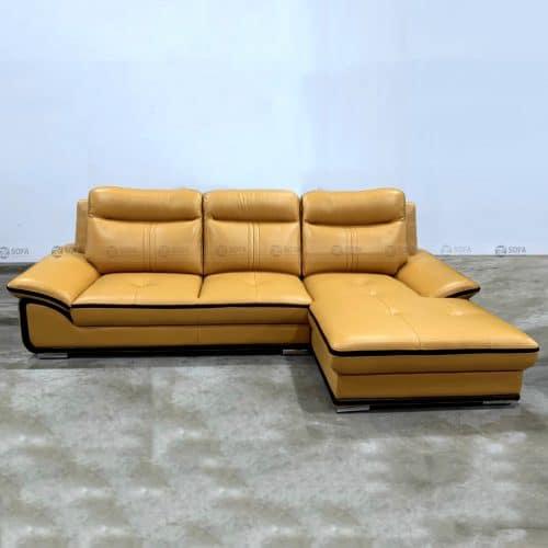Ghế sofa da bò thật LHG 889