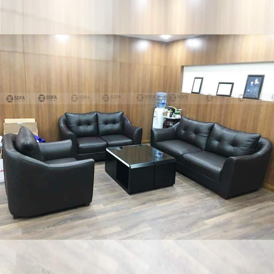 Ghế sofa da bò thật LHG 890