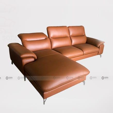 Ghế sofa da bò thật LHG 880