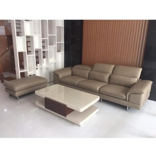 Sofa băng da thật ZL-176