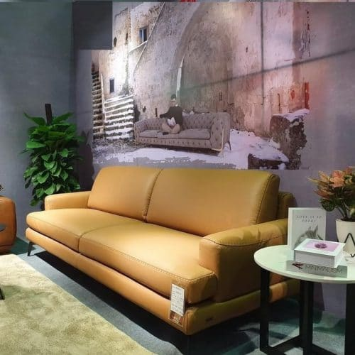 Sofa băng da thật ZL-185