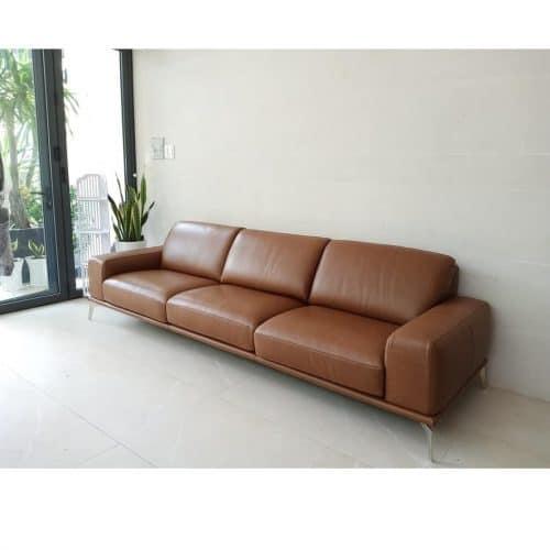 Sofa băng da thật ZL-178