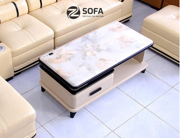 Bàn sofa mặt đá nhập B1909