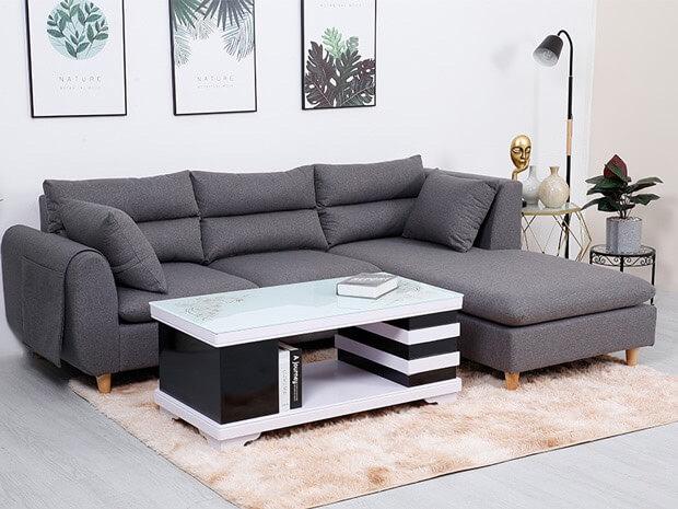 Tìm mua bộ bàn ghế sofa góc giá rẻ