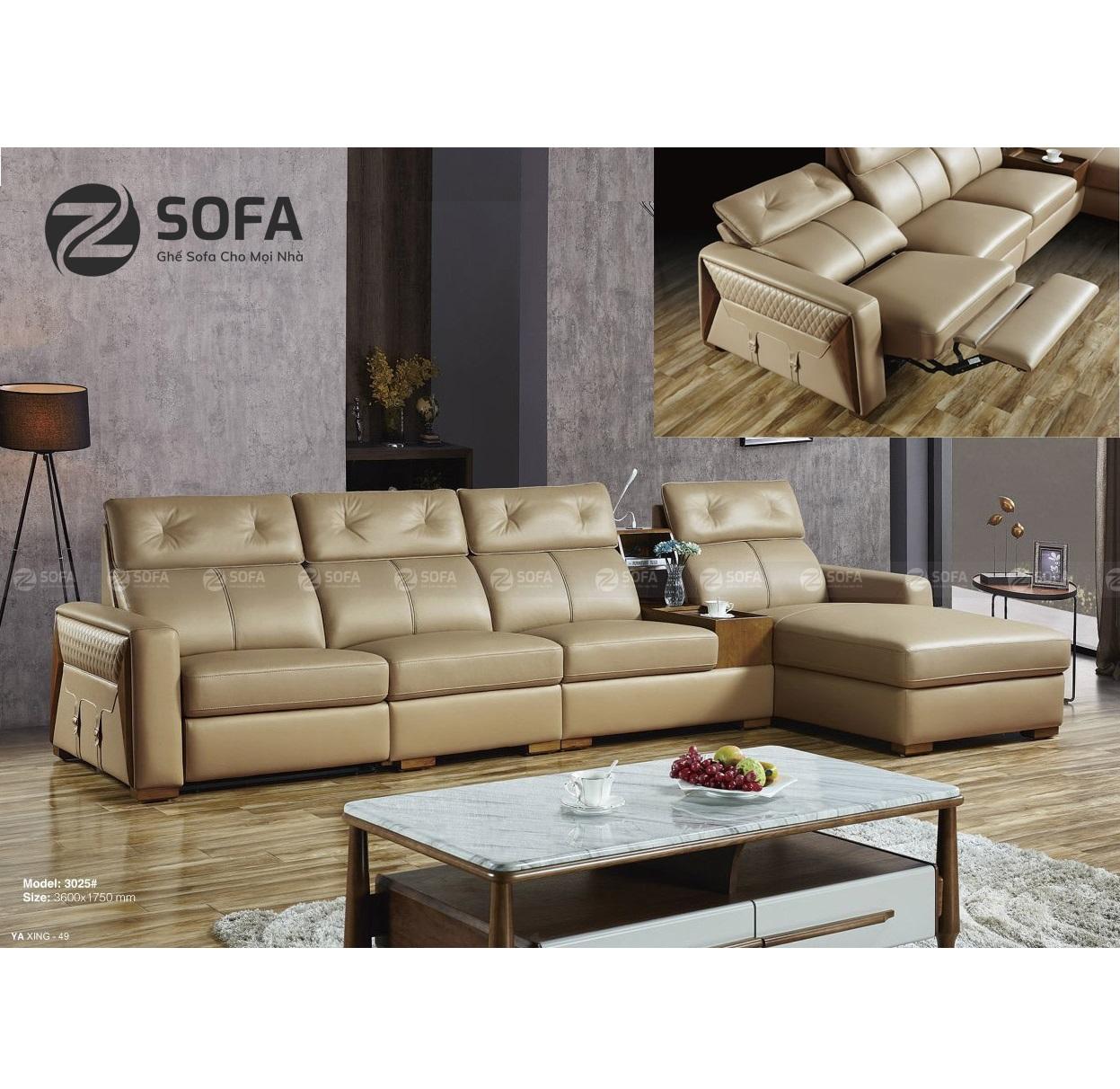 Sofa Da Nhập Khẩu ZL3025